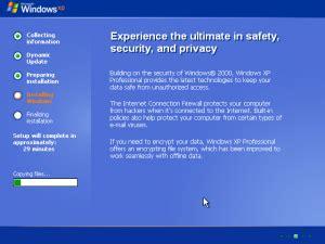 xp configure timezone installing windows xp easy configure