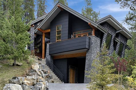 modern rustic homes modern rustic homes with black exteriors mountain modern