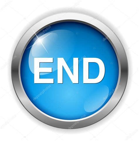 Button 1 End end button icon stock vector 169 sarahdesign85 70279371