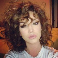 pictures of long whisper bangs 30 super long layered curly haircuts short hair