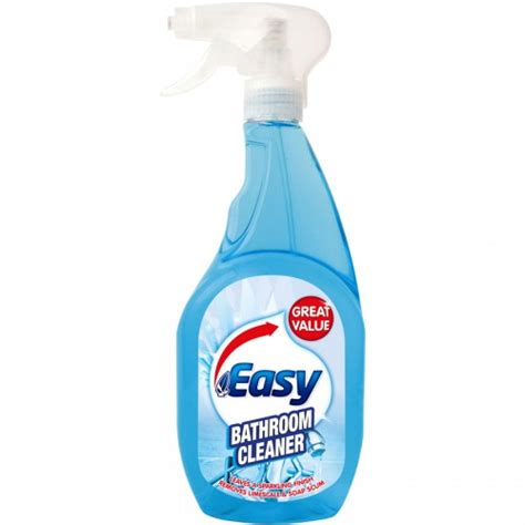 easy bathroom cleaning easy bathroom cleaner 750ml manchester safety services