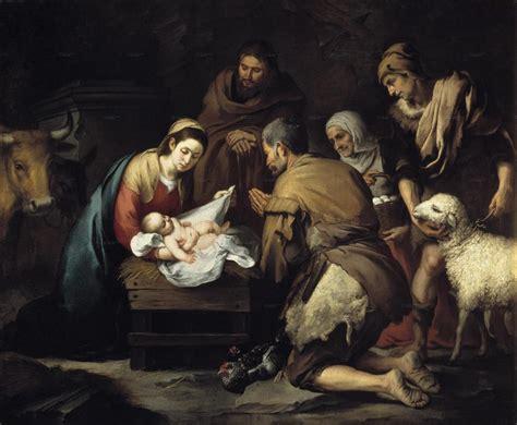 imagenes de los pastores del nacimiento de jesus para colorear la adoraci 243 n de los pastores murillo catequesis a