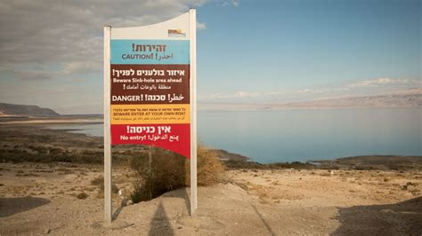 10 Things You Need To About Dead Sea Products by As The Dead Sea Dries Its Collapsing Shores A