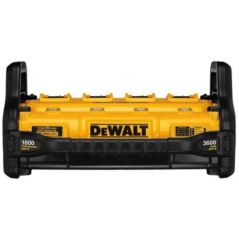 power station charger dewalt dcb1800b 1800 watt portable power station and