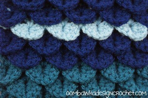 Crocodile Stitch Crochet Blanket by Crocodile Stitch Afghan Square
