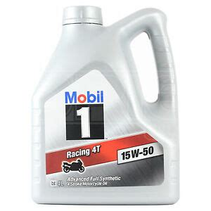 mobil 1 15w50 mobil 1 racing 4t 15w 50 four stroke motorcycle engine
