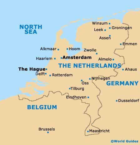 Amsterdam On World Map by Maps World Map Amsterdam