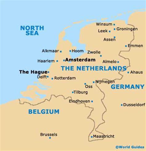 world map of netherlands amsterdam orientation layout and orientation around
