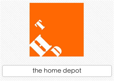 Home Depot by The Home Depot Logos Quiz Answers Logos Quiz