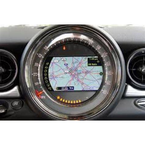 mini cooper navigation high sat nav dvd map disc europe update