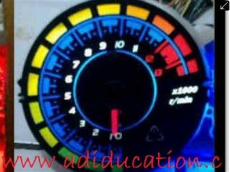Spidometer Bensin Meter Variasi Bulat spidometer variasi warna untuk satria fu jadikan tilan