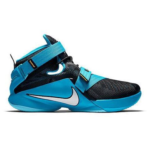 nike lebron soldier 9 ix mens 749417 014 blue lagoon basketball shoes size 11 meir shop