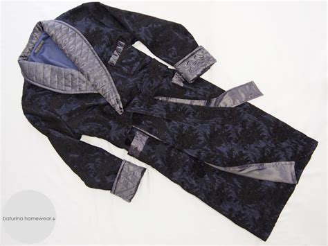 Mens Quilted Dressing Gown by Navy Quilted Silk S Luxury Robe And Gray Cotton Pajamas