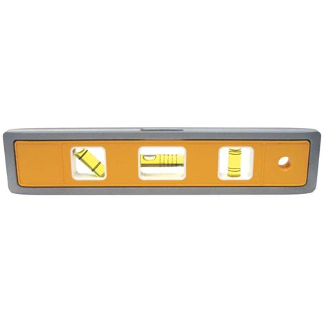 home depot paint levels johnson 9 in magnetic aluminum torpedo level 4500m the