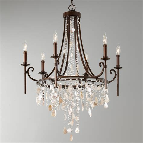 murray feiss chandeliers murray feiss f2660 6htbz cascade six light chandelier