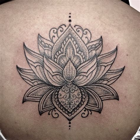 tattoo lotus mandala 36 mandala lotus tattoos ideas
