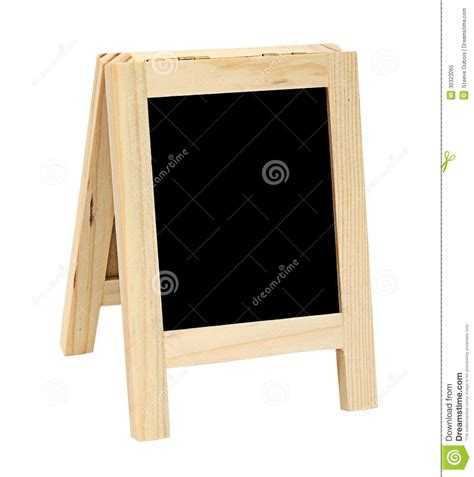 Standing Mini Frame mini free standing blackboard royalty free stock photo image 30323265