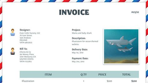 illustrator invoice template photoshop zone top 100 new adobe illustrator tutorials