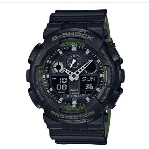Casio G Shock Ga 100l 1a Original casio g shock ga 100l 1a indowatch co id