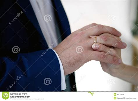 Wedding Ring Exchange Clipart by Wedding Ring Exchange Stock Photo Image 42787855
