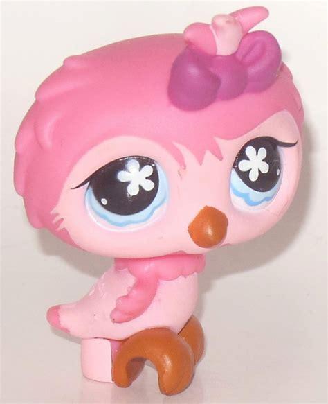 bobblehead lps prestomart littlest pet shop animal by hasbro pink coral