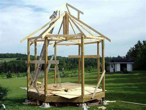 build gazebo build gazebo roof gazeboss net ideas designs and exles