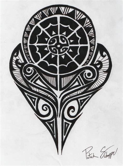 design meaning art polynesian strength tattoo by patrickschappe art on deviantart