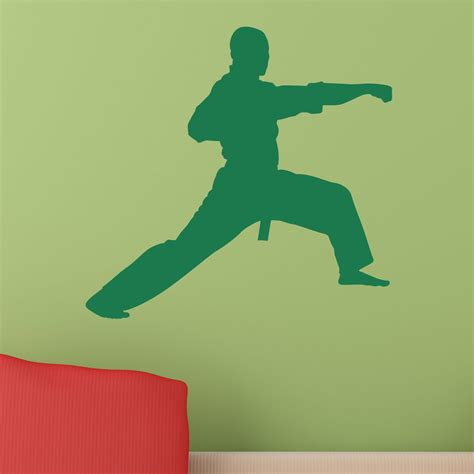 Martial Arts Wall Stickers
