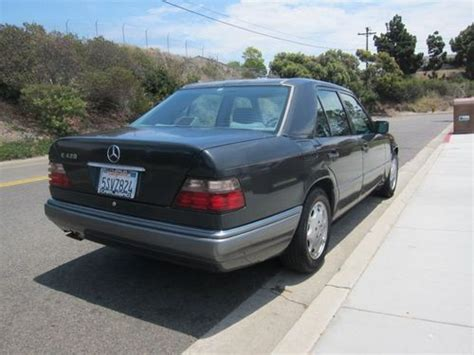 car engine manuals 1994 mercedes benz e class security system sell used 1994 mercedes benz e420 e class w124 chassis m119 engine many new parts in oceanside