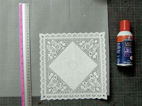 How To Make Paper Doily Envelopes - diy paper doily envelopes ruffled