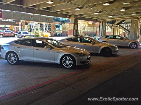 tesla model s spotted in highlands ranch colorado on 04