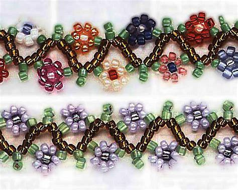 free beading projects seed bead jewelry patterns free beautyful jewelry