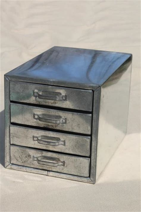 metal parts organizer drawers vintage industrial metal parts chest hardware organizer