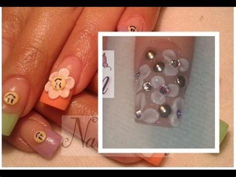 fotos de uñas acrilicas en 3d como hacer flores 3d en u 241 as acrilicas paso a paso