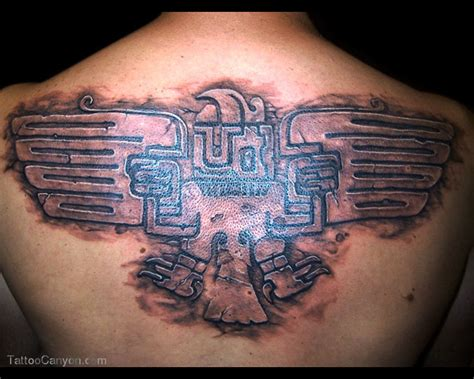 aztec eagle tattoo aztec tattoos and designs page 248