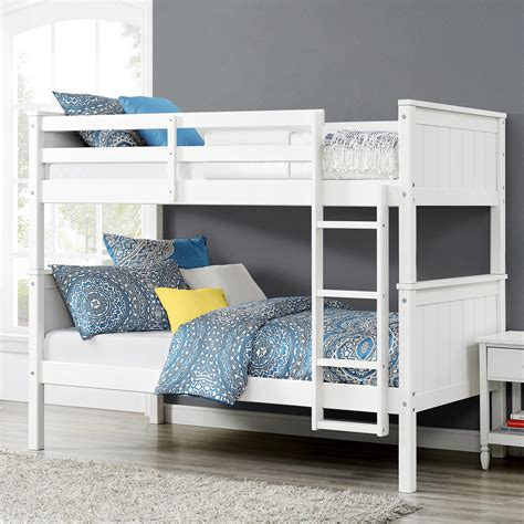 Dorel Living Dorel Living Maxton Twin Over Twin Bunk Bed Living Home Bunk Bed