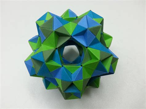 Origami Cuboctahedron - the world s best photos of cuboctahedron and dodecahedron