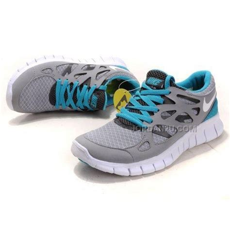 nike athletic shoes on sale nike free run 2 womens running shoes grey blue on sale