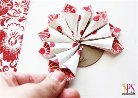 como fazer enfeite de natal  papel