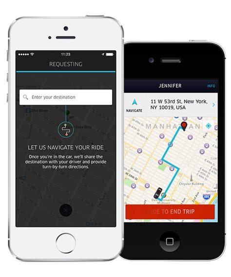 lost phone uber uber mobile apps gain turn by turn navigation and destination entry features
