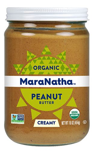 Organic Crunchy Peanut Butter organic no stir peanut butter maranatha nut butters