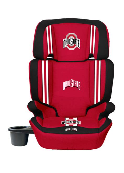 car seat ohio ohio state buckeyes 2 in1 high back booster car seat lil fan