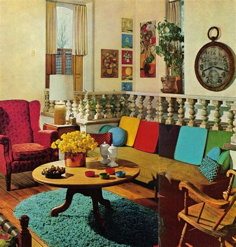 apartment    book  bhg technicolor livingrooms