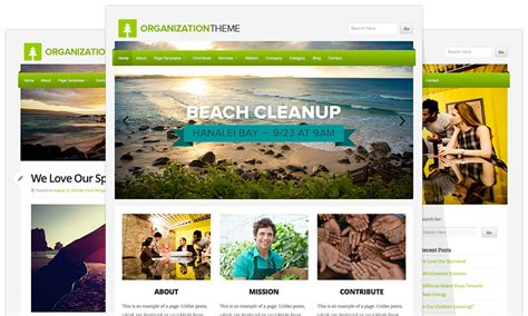 Wordpress Theme Free Organization | wp com theme release organization beautiful responsive