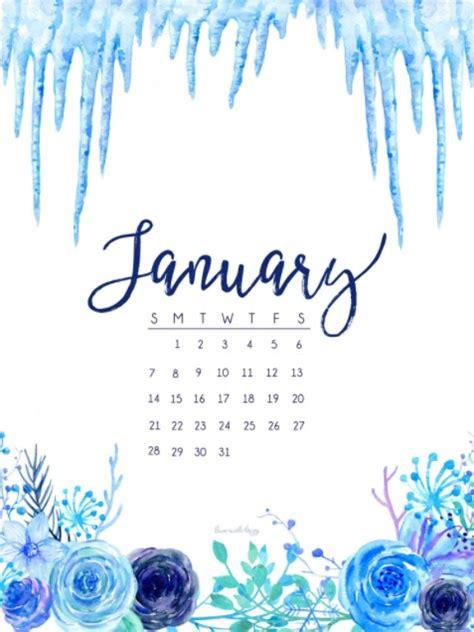 Cute January Wallpaper | january 2018 hd calendar calendar 2018
