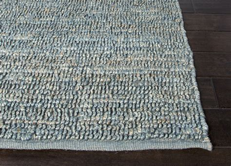 2x3 Jute Rug jaipur cl13 naturals solid pattern jute blue area rug 2x3