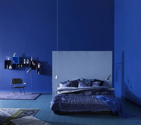 Blue Color Schemes For Bedrooms | stylish blue color schemes for bedrooms interiorholic com