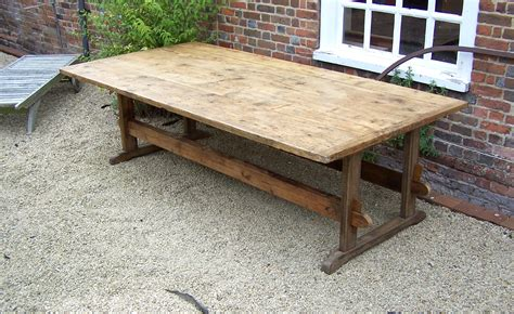 large rustic farm table summers davis antiques interiors