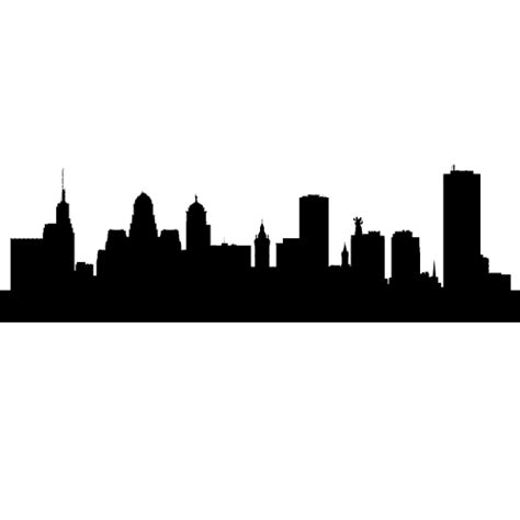 buffalo new york skyline decals wall decor buffalo new