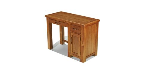 oak computer desk emsworth oak single pedestal computer desk lifestyle